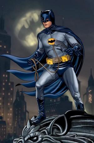 Batman/Adam West fanart
