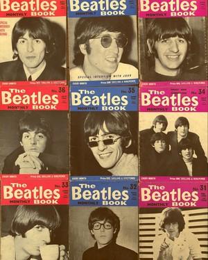 Beatles boeken collage