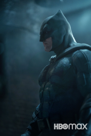 Ben Affleck as Batman in Zack Snyder's Justice League