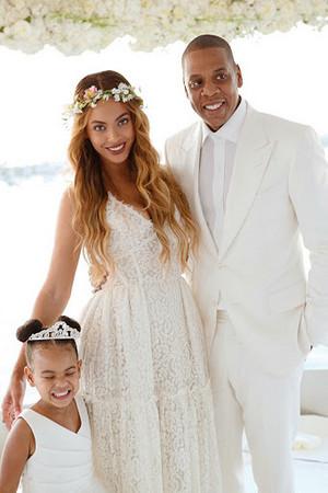 Blue Ivy, Beyoncé and jay Z