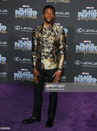 Chadwick Boseman 2018 disney Film Premiere Of Black pantera, panther