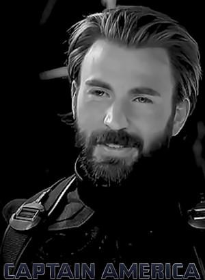 Chris Evans as Steve Rogers || Captain America ⭐