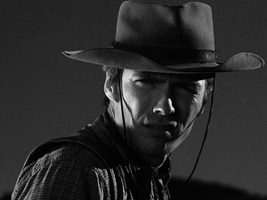 Clint as Rowdy Yates in Rawhide
