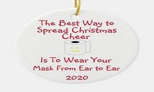 Funny Elf Ornament