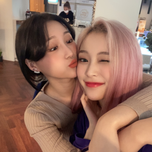 Gahyeon and Siyeon