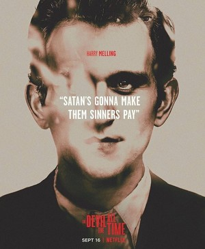Harry Melling || The Devil All the Time|| Poster (2020)