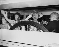 Hedda Hopper Visiting Disneyland
