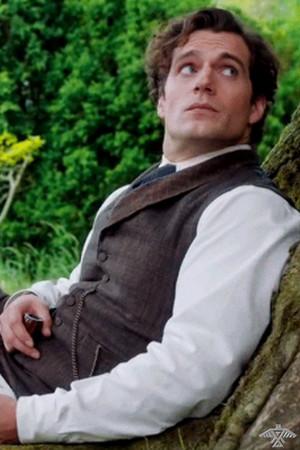 Henry Cavill as Sherlock Holmes in Netflix's Enola Holmes (2020)