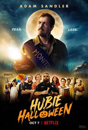 Hubie हैलोवीन (2020) promo poster