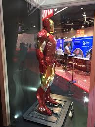 Iron Man Costume Display disney Expo 23