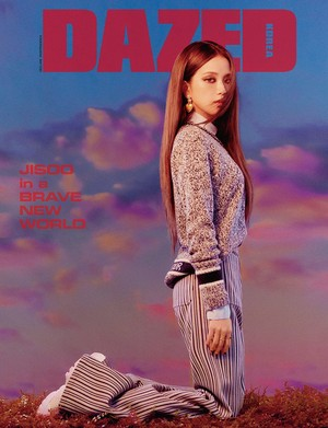 Jisoo enters a brave new world as the cover star of 'Dazed'