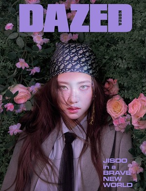 Jisoo enters a Brave new world as the cover bintang of 'Dazed'