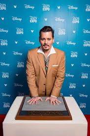 Johnny Depp Дисней 23 Expo