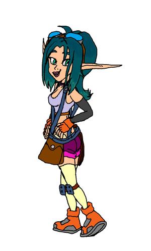 Keira Hagai.(Jak 3 Outfit)(Sigerreip Version)