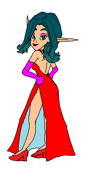 Keira Hagai. Jessica Rabbit Style Dress Tools (SailorMik Version)