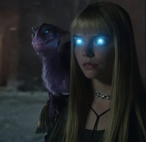 Magik and Lockheed || The New Mutants (2020)