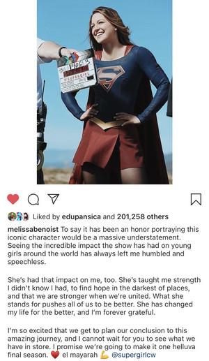 Melissa's Message