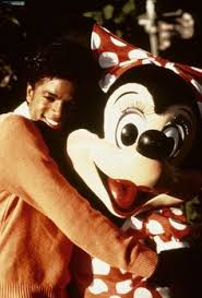 Michael Jackson And Minnie ratón