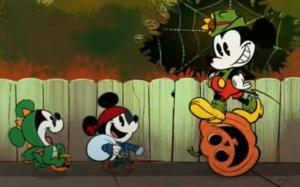 Mickey ratón Morty and Ferdie Spooktacular halloween
