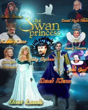 My Fan-Made Poster for The swan Princess Live-Action Remake