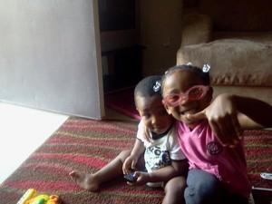My nephew and niece