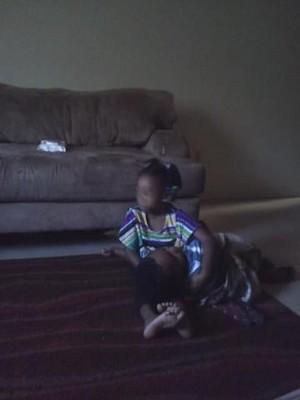 My niece and nephew
