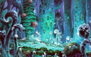 Nausicaä of the Valley of the Wind kertas dinding