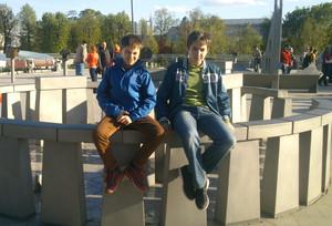 Nikita Tretyak (Xlson137) with Vitaly Grinevich (Vitalysema)