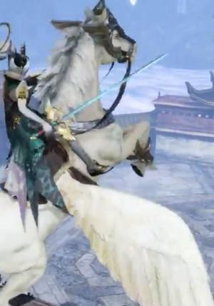 NuWa rides on an Pegasus