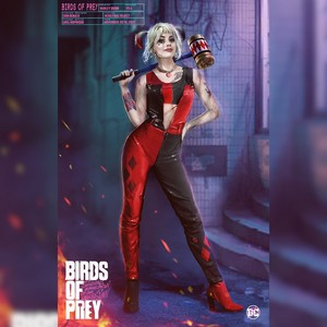 Official 'Birds Of Prey' Concept Art ~ Harley Quinn