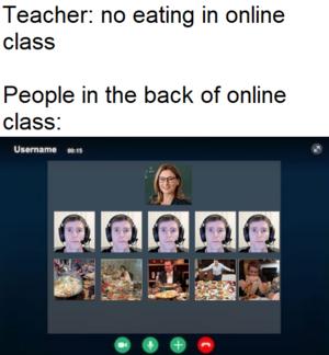 Online Class Be Like