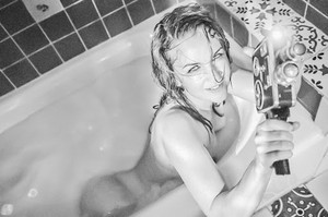 Renee O'Connor - In The Tub Project by TJ Scott