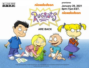 Rugrats Coming Soon 2021 Poster