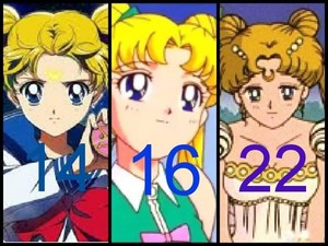 Sailor Moon Usagi Tsukino Serena Character Evolution