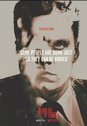 Sebastian Stan || The Devil All the Time || Poster (2020)