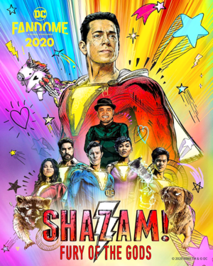 Shazam! Fury of the Gods || DC FanDome poster (unofficial)