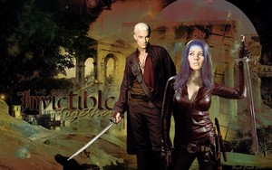 Spike/Illyria wolpeyper - Invincible Together