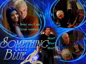 Spike/Illyria wolpeyper - Something Blue