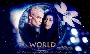 Spike/Illyria wolpeyper - The World Is Not Enough