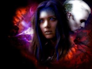Spike/Illyria wolpeyper