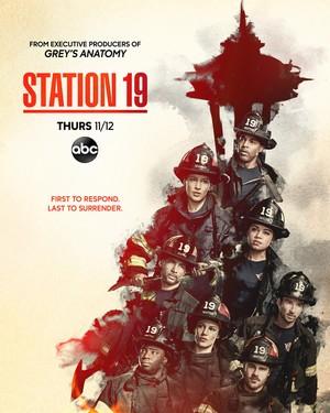 Station 19 || Season 4 || Promo Poster
