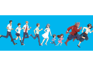 The Girl Who Leapt Through Time / Summer Wars / 늑대 Children / The Boy and the Beast