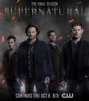Supernatural || Final Episodes Poster (2020)