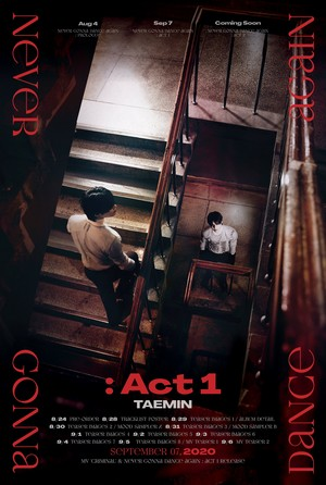 TAEMIN The 3rd Album Never Gonna Dance Again Act 1