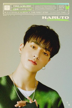 TREASURE - 'I amor YOU' título MEMBER POSTER <HARUTO>