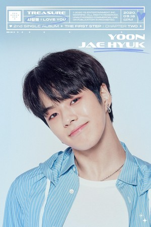 TREASURE - 'I amor YOU' título MEMBER POSTER <JAEHYUK>