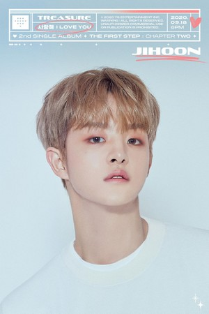 TREASURE - 'I LOVE YOU' titel MEMBER POSTER <JIHOON>