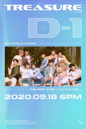 TREASURE - 'THE FIRST STEP : CHAPTER TWO' D-1 POSTER