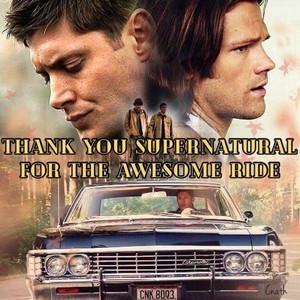 Thank tu supernatural