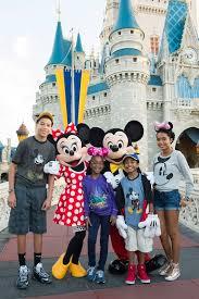 The Cast Of Black-ish In Disneyland